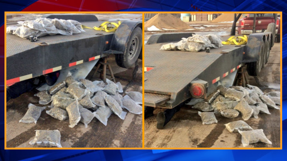 120 pounds of pot fall from trailer driving down I-80 | KBAK