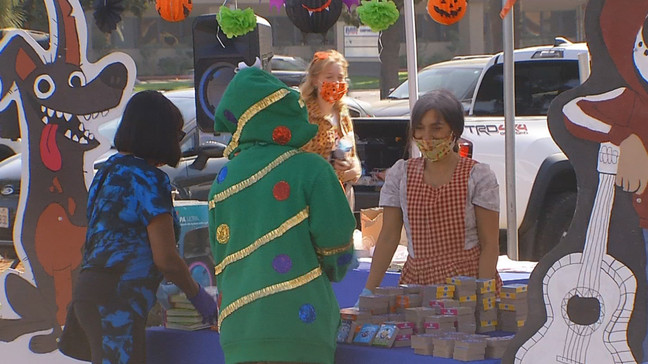 United Way hosts Halloween literacy drive-thru event