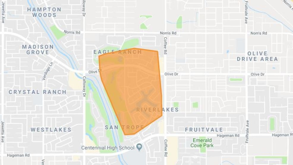 PG&E: Nearly 3,500 without power in northwest Bakersfield | KBAK