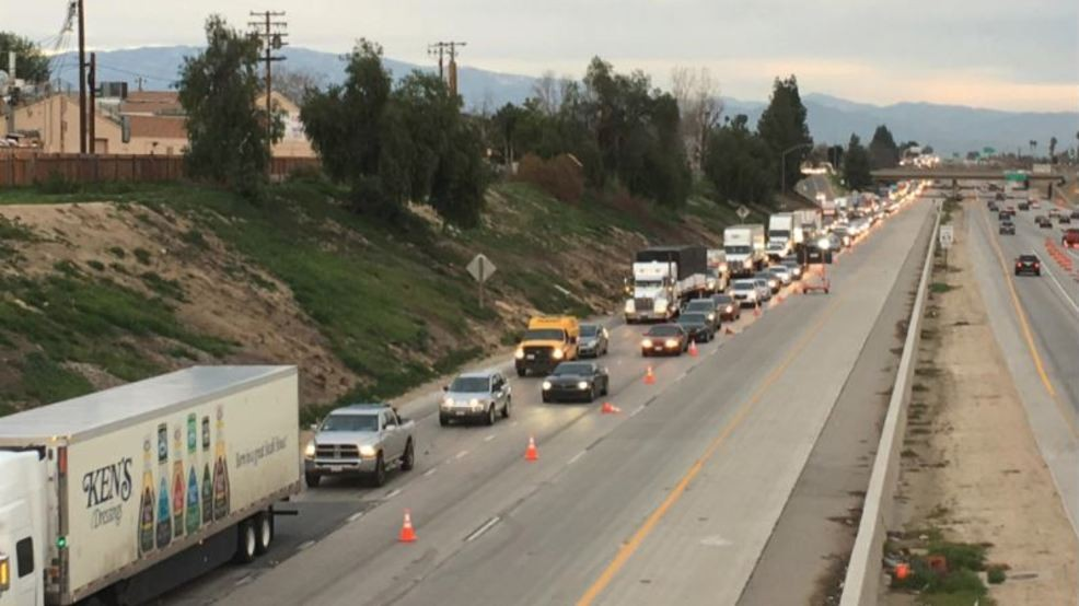 UPDATE: WB 58 at the 99 reopened in Bakersfield after