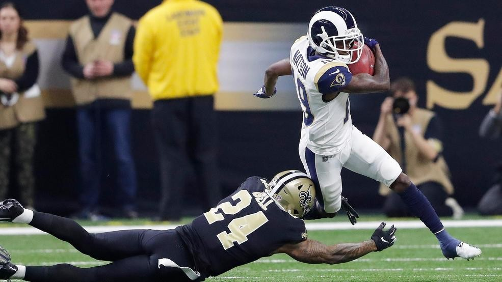 f556a485534 Los Angeles Rams advance to Super Bowl