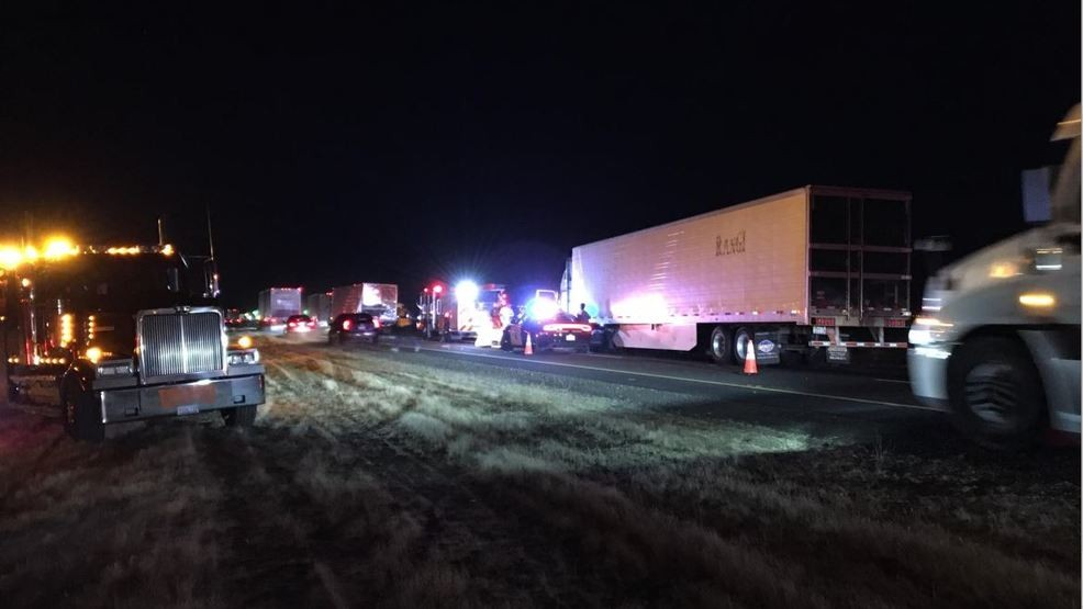 Truck driver killed in early morning crash involving four