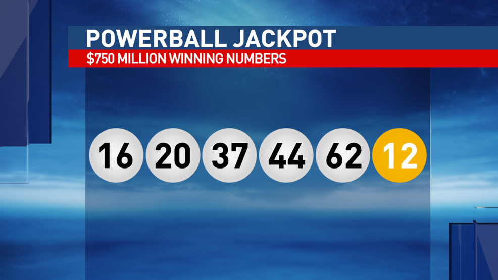 Winning Numbers Announced For 750 Million Powerball Jackpot Kbak