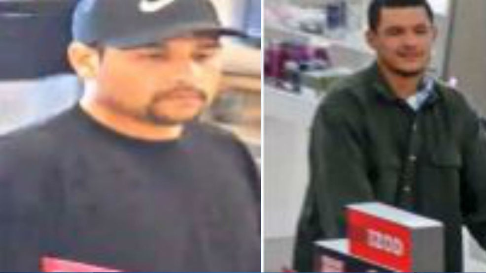 4d50388e2b3 The Bakersfield Police Department is asking for help in finding two  suspects wanted for robbing a Kohl s in Bakersfield
