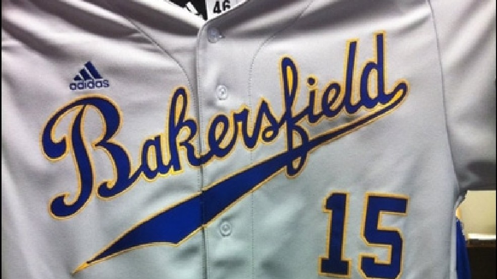 new arrivals e9c39 cdb78 Cal State Bakersfield shows off new baseball uniform | KBAK