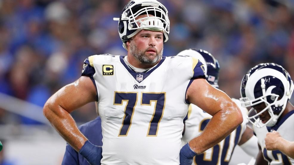 super popular e0400 c54d7 Rams left tackle Andrew Whitworth to return for 2019 season ...