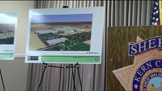 Kern County sheriff unveils plan for $110M new jail | KBAK