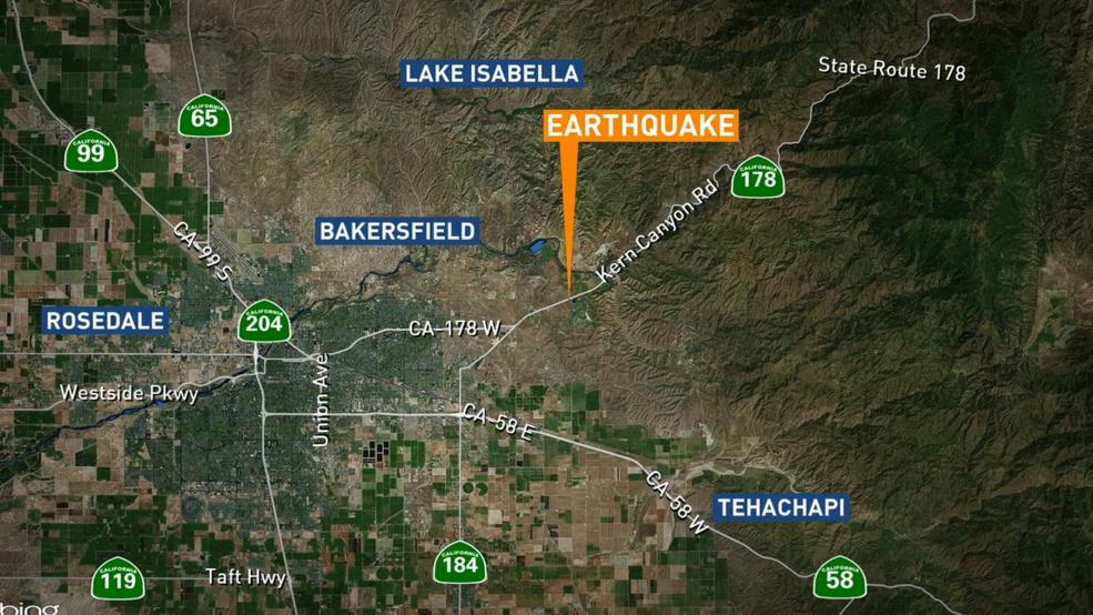 Breaking News: Earthquake felt outside of Oildale   KBAK