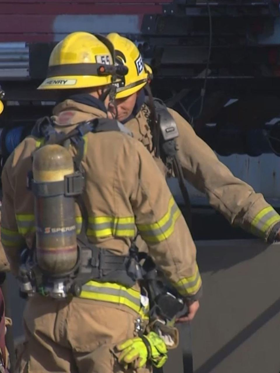 Two Injured In Electrical Fire At Ikea Distribution Center Kbak