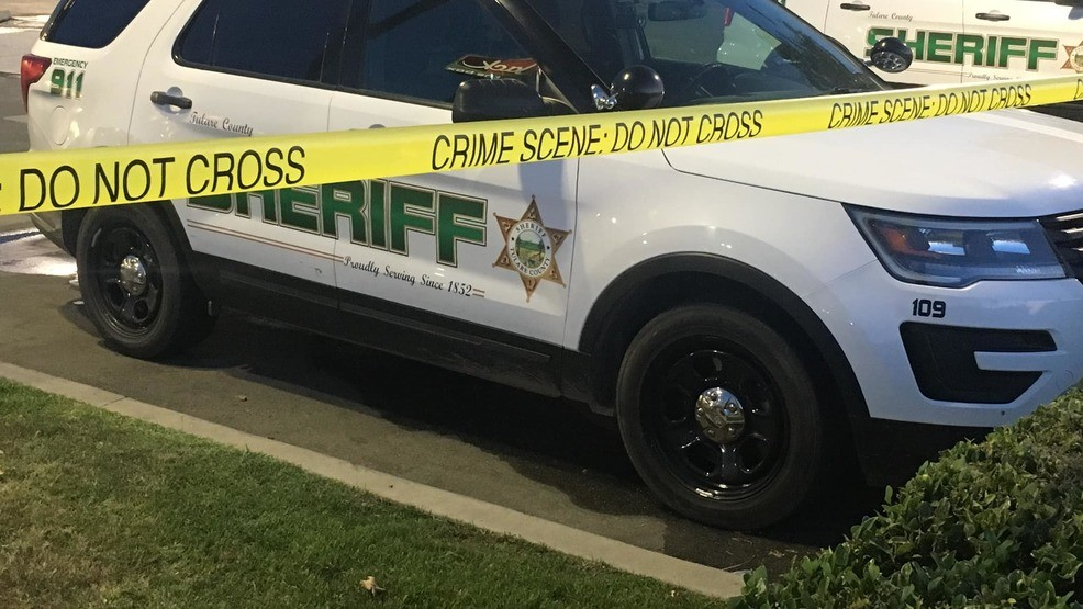 Tulare County Sheriff's Office involved in a deadly shooting with a